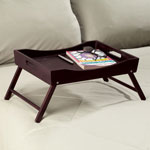 Storage & Organizers - Wooden Folding Tray Table