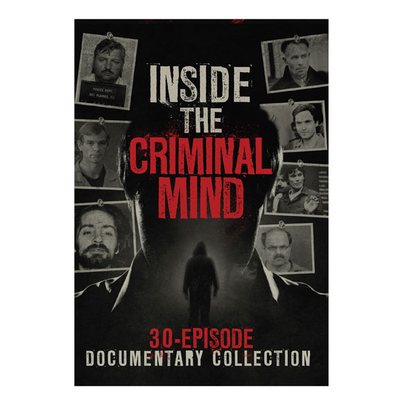 Купить со скидкой Inside the Criminal Mind: 30-Episode Documentary DVD set