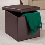 Accent Furniture - Folding Storage Ottoman