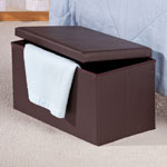 Accent Furniture - Storage Ottoman
