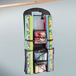 Decorations & Storage - Hanging Gift Wrap and Accessory Organizer