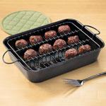 Bakeware & Cookware - 2-Pc. Meatball Baking Pan
