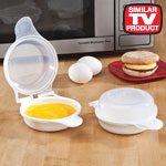 Similar to TV Products - Magic Egg Sandwich™ Cooker, Set of 2 with FREE Gift