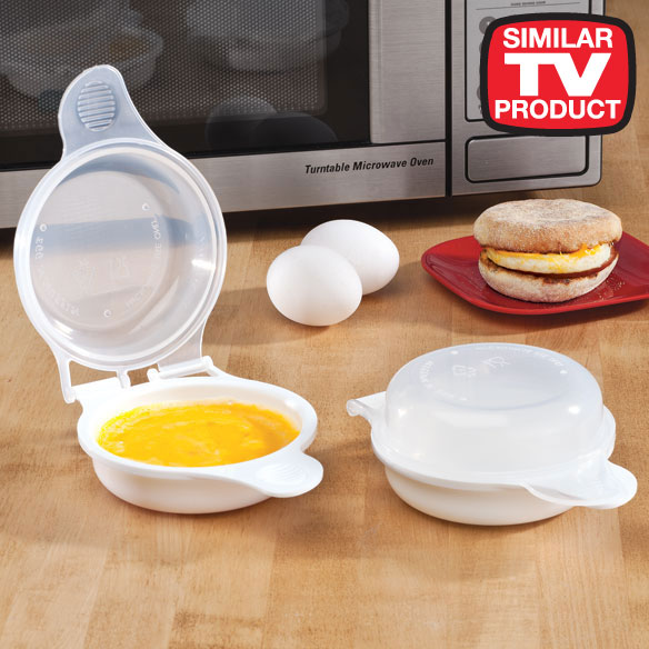 Magic Egg Sandwich™ Cooker, Set of 2 with FREE Gift