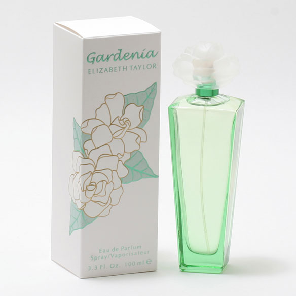 Gardenia by Elizabeth Taylor EDP Spray Gardenia by Elizabeth Taylor is a floral scent centered around the gardenia flower. Accented by fresh green notes, soft orchid and peony, the gardenia really shines through. A musky base in this Elizabeth Taylor perfume adds a sexiness to this sweet scent.; top notes of green notes and lily, middle notes of gardenia, orchid and peony and base notes of musk and carnation. An EDP spray. 3.3 fl. oz. No express shipping. Please allow 3-4 weeks delivery time. No shipping to PO boxes.