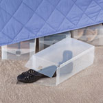 New - Clear Shoe Storage Boxes Set of 4