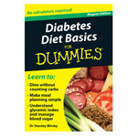 Similar to TV Products - Diabetes Diet Basics Refrigerator Magnet Book For Dummies®