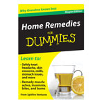 Similar to TV Products - Home Remedies Refrigerator Magnet Book For Dummies®