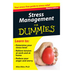 Similar to TV Products - Stress Management Refrigerator Magnet Book For Dummies®