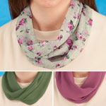 Jewelry & Accessories - Rose Floral Magnetic Scarves