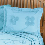 Bedroom Basics - The Emily Chenille Standard Sham by East Wing Comforts™