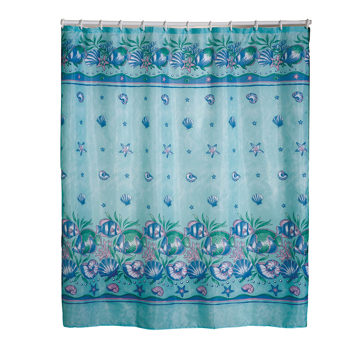 Oceanic Shower Curtain - Ocean Shower Curtain - Walter Drake