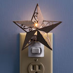 Closeout Deals - Barn Star Nightlight