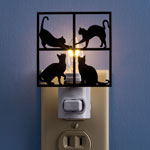 Home Lighting - Curious Cats Nightlight