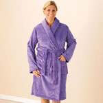 Comfort Clothing - Fleece Bathrobe
