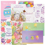 New - Easter Card Assortment, Set of 24