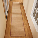 "Decorations & Accents - Bamboo Floor Runner - 23"" x 118"""