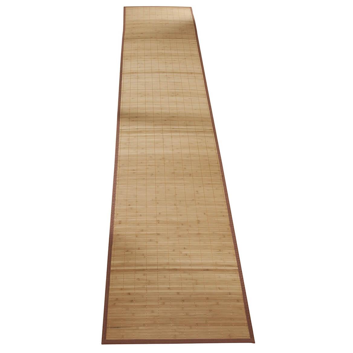 """Bamboo Non Slip Runner 118""""x23""""-350457"""