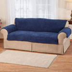 New - Sherpa Sofa Protector by OakRidge Comforts™