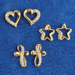 Jewelry & Accessories - Rhinestone Earring Value Pack