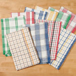 Cleaning & Repair - Plaid Kitchen Towels, Set of 10
