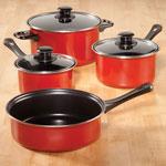 Bakeware & Cookware - 7-Piece Cookware Set