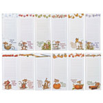 Memos, Notepads & Cards - Mice Note Pads, Set of 12