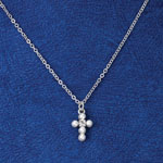Jewelry & Accessories - Pearl Communion Cross Necklace
