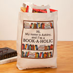 Handbags & Wallets - Personalized Book-A-Holic Tote