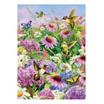 Hobbies - Hummingbirds and Coneflowers Puzzle, 750 Pieces