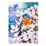 Hobbies - Bluebirds and Blossoms Puzzle, 750 Pieces