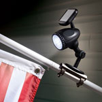 New - Solar Flag Pole Light