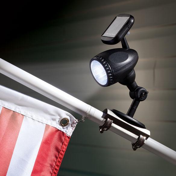 solar flag pole light flag pole light solar flag light. Black Bedroom Furniture Sets. Home Design Ideas
