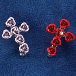 Jewelry & Accessories - Rose Cross Pendant