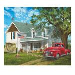 Hobbies - Americana Farmhouse Puzzle, 1000 Pieces