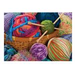 Yarn Bundles Jigsaw Puzzle - 1000 Pieces, Multicolor