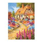 Hobbies - English Cottage Garden Puzzle, 750 Pieces