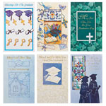 Memos, Notepads & Cards - Religious Graduation Card Assortment, Set of 24