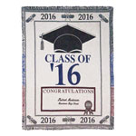 Decorations & Accents - Personalized 2016 Graduation Afghan