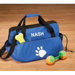 Pets - Personalized Paw Print Pet Supply Duffle Bag