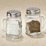 Table Top & Entertaining - Mason Jar Salt & Pepper Shakers