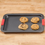New - Cookie Sheet with Silicone Handles
