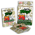 Hobbies - Let's Play™ 25 Card Games