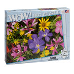 Holidays & Gifts - Wildflowers Jumbo 600-Pc. Puzzle