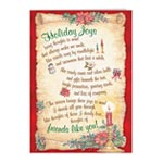 Gift Cards & Letters - Holiday Joys Non Personalized Christmas Card Set of 20