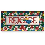 Sale - Rejoice Christian Non Personalized Christmas Card Set of 20