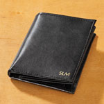 Handbags & Wallets - Personalized Leather RFID 20 Pocket Wallet