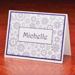 Memos, Notepads & Cards - Personalized Flowers Note Cards Set of 25