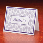 Memos, Notepads & Cards - Personalized Egg Note Cards Set of 25
