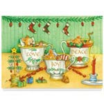 Holidays & Gifts - Christmas Mice Non Personalized Christmas Card Set of 20
